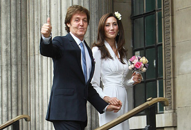 Свадьба пола маккартни и хизер миллс